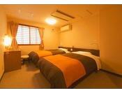 ■洋室ツインベットルーム■お手軽旅行に最適♪ツインベットルーム一例