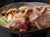 ~やまと豚のすき焼き~ やまと豚を定番のすき焼きで頂く、ついついご飯も進んじゃいますね。