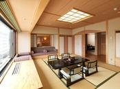 【別館】和洋特別室/高層階にある広々とした和洋室。