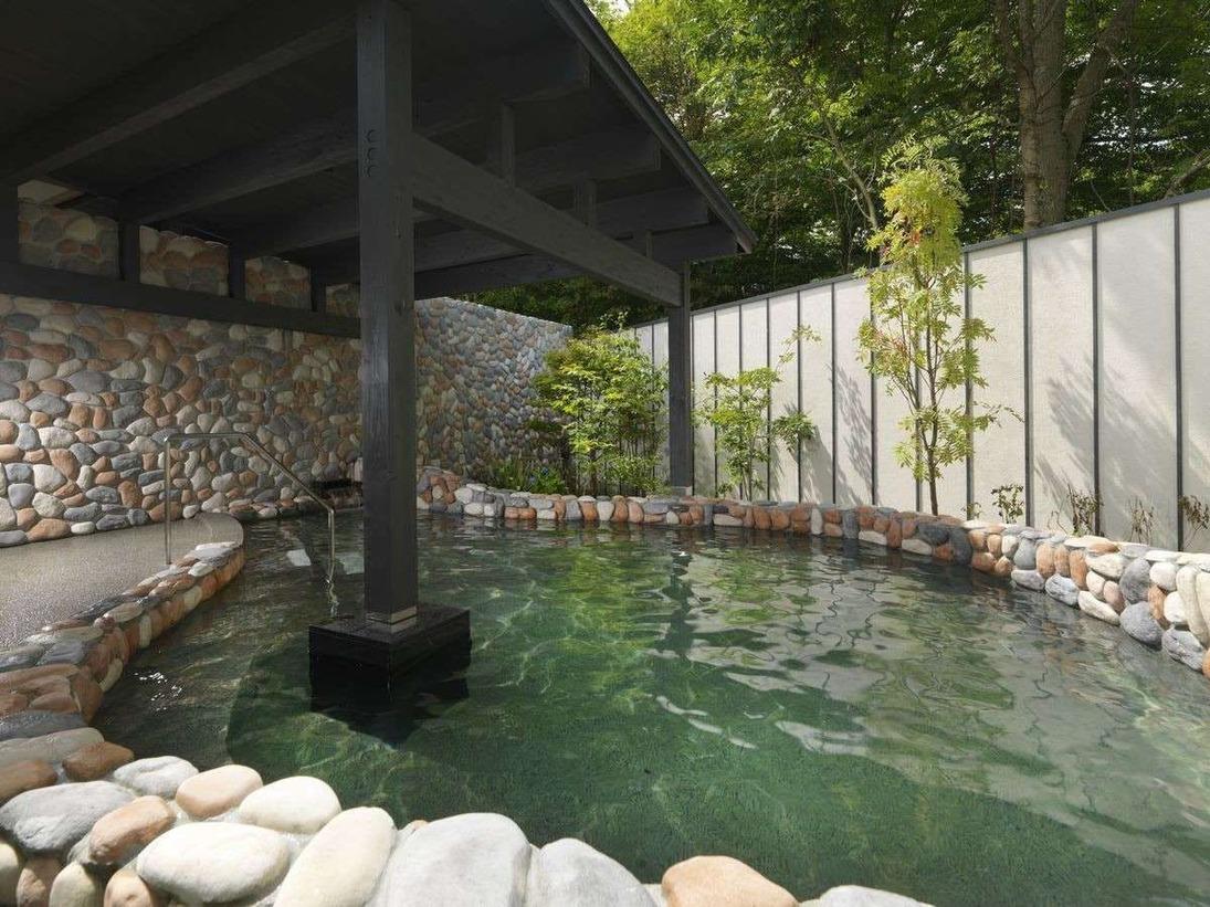 ◆湯処 露天風呂/大沼の風を感じる温泉露天風呂(一例)