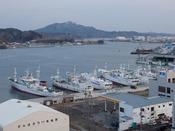 気仙沼港:気仙沼港は水揚げ港や遠洋漁業の基地としての役割を果たしています。当館から車で約6分。