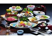 【季節の趣好会席】和歌山名産熊野牛と魚貝を堪能頂ける会席※イメージ