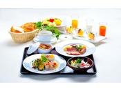 【朝食~洋食~】パンやスープ、オードブルをご用意しております。  ※イメージ