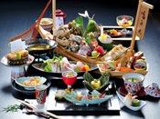 【潮さいクエ小鍋会席】秋冬限定 幻の高級魚とも言われる魚、クエを含んだ会席※イメージ