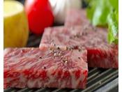 最上級上州牛A5等級肉をお好みの焼き加減で。。。