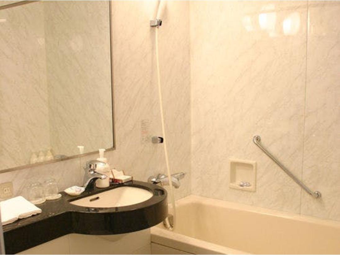 スタンダードルーム バスルーム 一例