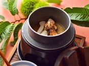 松茸の釜炊き御飯