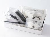 ハイグレードアメニティ(歯ブラシ、レザー、綿棒等)