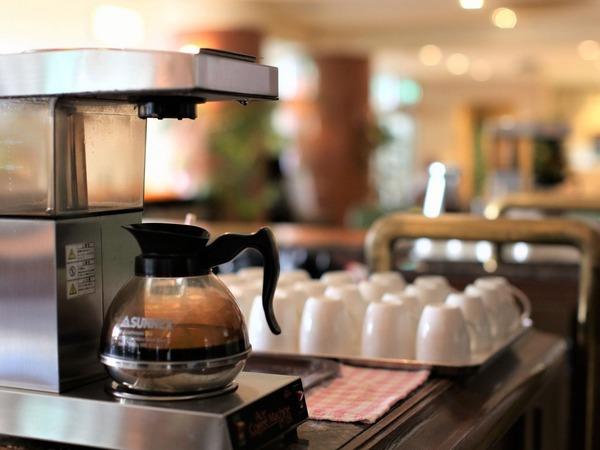 24時間コーヒー無料サービス