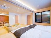 ◆露天風呂付客室67.5平米◆6名定員/和ベッド+露天風呂+シャワー室+食事部屋+居間