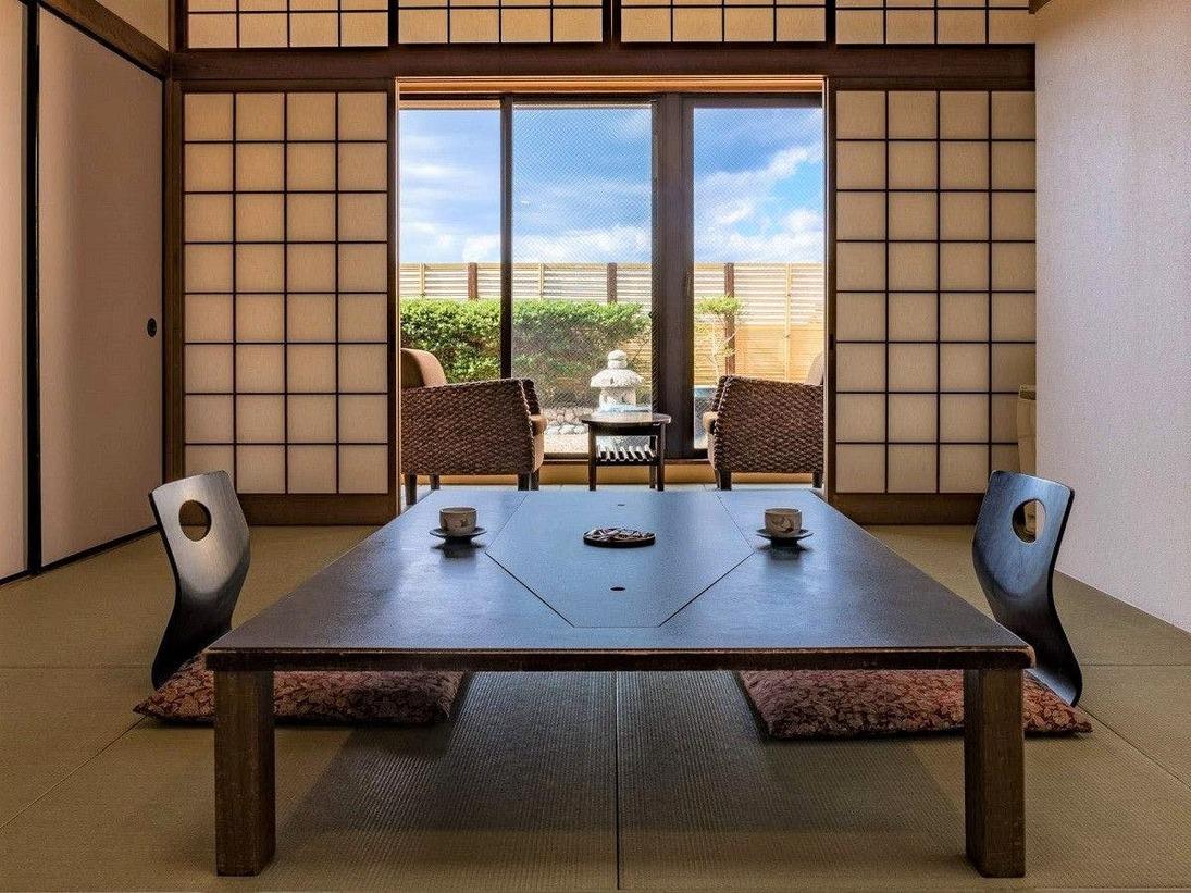 琵琶湖側【露天風呂付き客室】(シャワートイレ付)WIFI