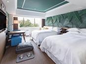 ドッグフレンドリールーム 2ベッド 一例