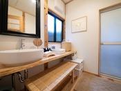 ■錫 -suzu-■ スタイリッシュな洗面所
