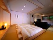 ■鴇 -toki-■ 大人限定・露天風呂付き離れ/まるで絵画の中にいるような洗練されたしとやかな空間