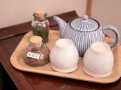 ■-ご宿泊のお客様へ-■ 全客室にて、お茶とそば茶をご用意しております。