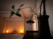 ■麹 -kiku-■ 大人限定・露天風呂付き離れ/夜は静寂に包まれる。全7室のプライベートリゾート