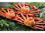 脚身から溢れるエキスは絶品!蟹のおいしさが一番わかる茹でご提供いたします。