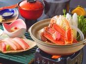 蟹の出汁たっぷり!蟹すき鍋