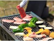 たっぷりお肉・海鮮や新鮮野菜でバーベキュー★