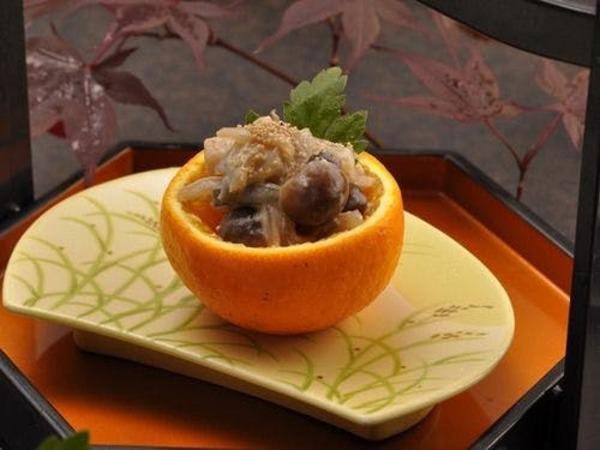 季節替わりの前菜をお楽しみください。