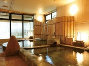 【新館:小涌谷温泉/笹の湯】石切風呂(あつ湯/ぬる湯)で多彩な湯を愉しめる