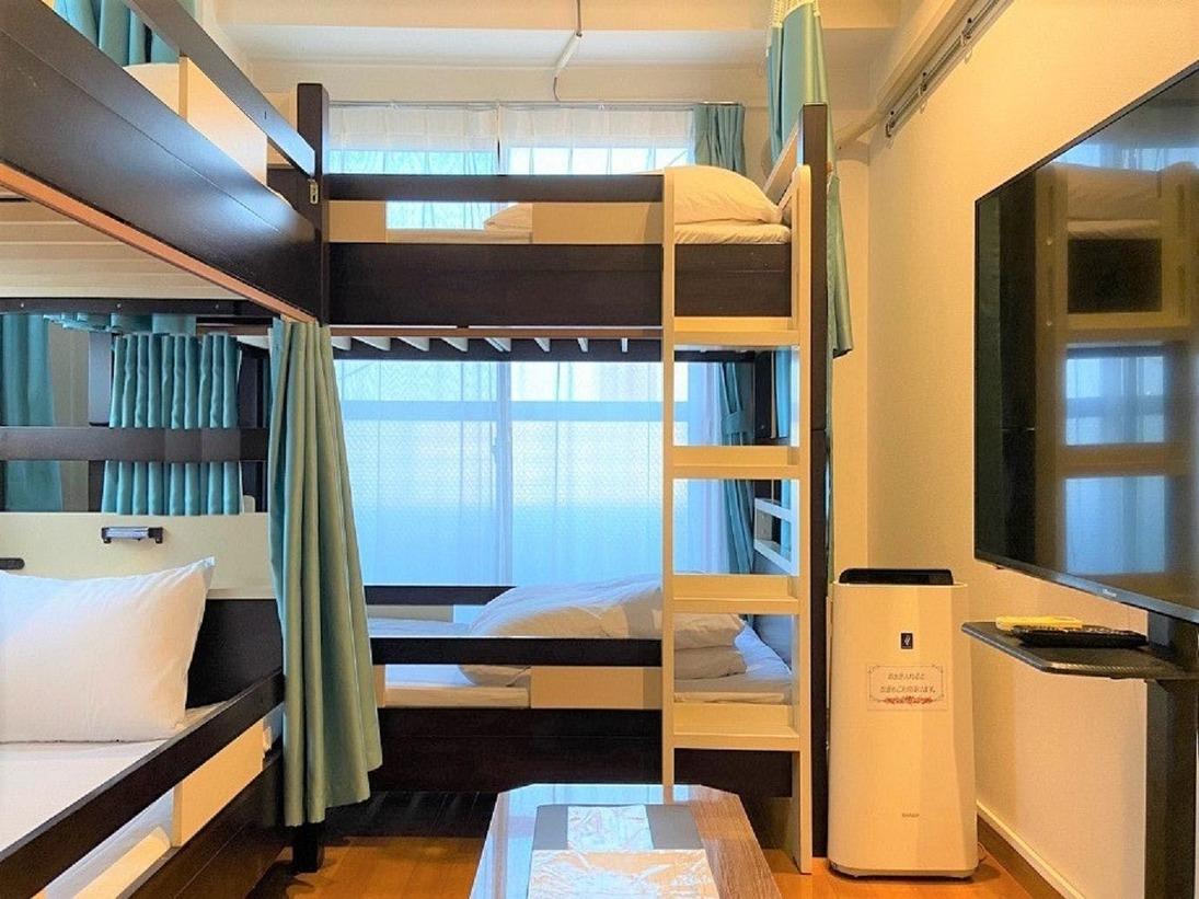 角部屋二段ベッド