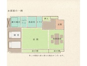 ◇お部屋の一例55.8平米◇