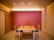 ◆客室食事部屋◆各お部屋にて八千代自慢の会席料理をお愉しみください。