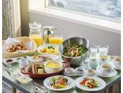 【20・21階特別フロア】宿泊者限定の朝食(有料/事前予約制)※2019年4月以降の内容