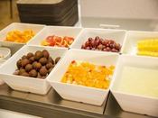 【朝食イメージ】フルーツも充実。朝に酵素をチャージ!!