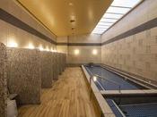 【温浴施設:トリニテ】男性用浴室