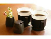 【コーヒー】ラウンジにて24時間ご用意しております。休憩のお供にいかがですか