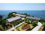 岬そのものが湯宿である海舟。【離れ】の光景当館の人気客室、メゾネットタイプ2室、平屋タイプ8室ございます。