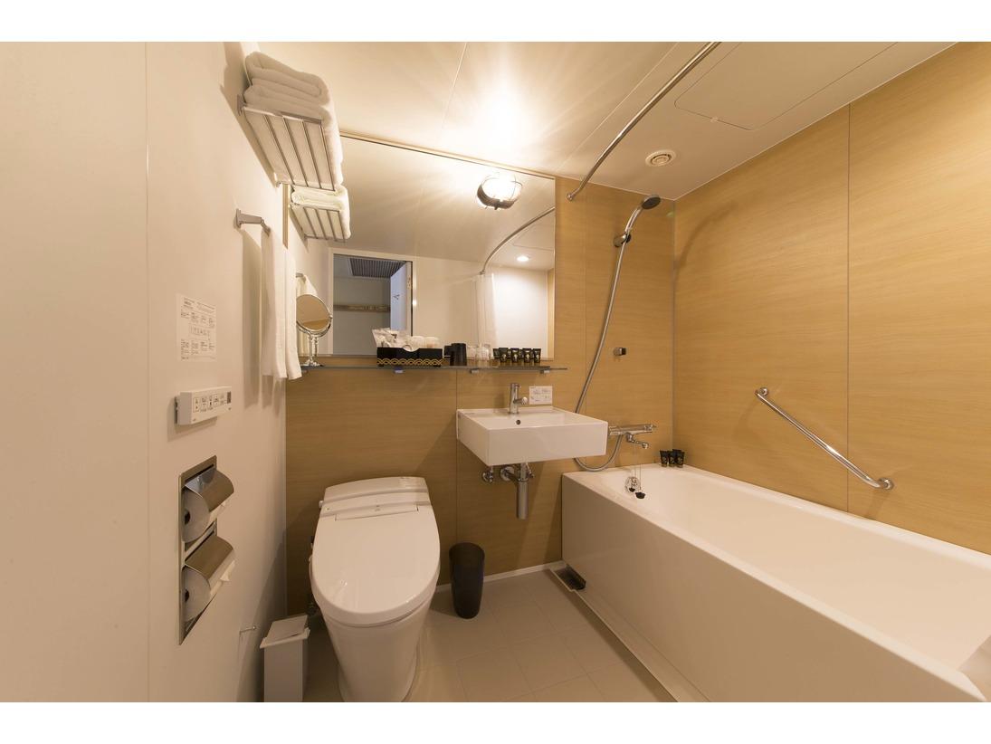 バスルームも全室リニューアル致しました。