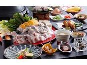 淡白ながらも底知れない旨みを持ち、質・量ともに粋を極めた淡路島3年とらふぐを愉しむ≪料理イメージ≫