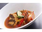 【旬房 海楽】オープンキッチンから出来たての料理をテーブルまでお届け≪料理イメージ≫