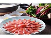 淡路島サクラマスの甘みを引き立たせる和風仕立てのマリアージュ鍋 春野菜と共に≪料理イメージ≫
