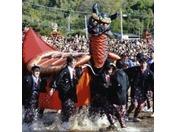 亀蛇(きだがめ)◇九州三大祭「妙見祭」