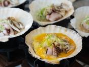 朝食イメージ:青森の郷土料理 ホタテの貝焼き味噌