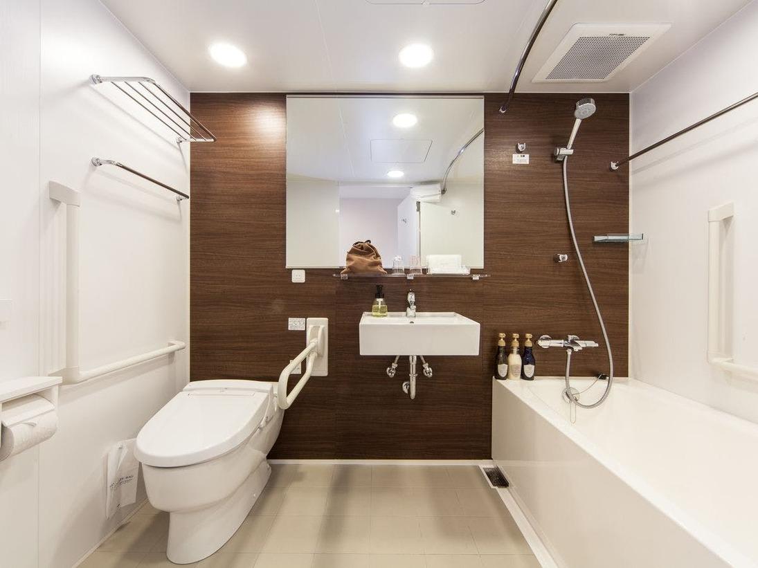 バスルーム(アクセシブルルーム)