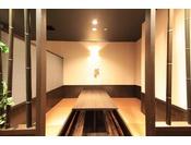 【個室お食事処】『千味小路』個室の食事処です。お仲間でのプライベートな時間をお楽しみください。