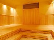 【ナッピングルーム(読書や昼寝ができる低温のサウナルーム。】