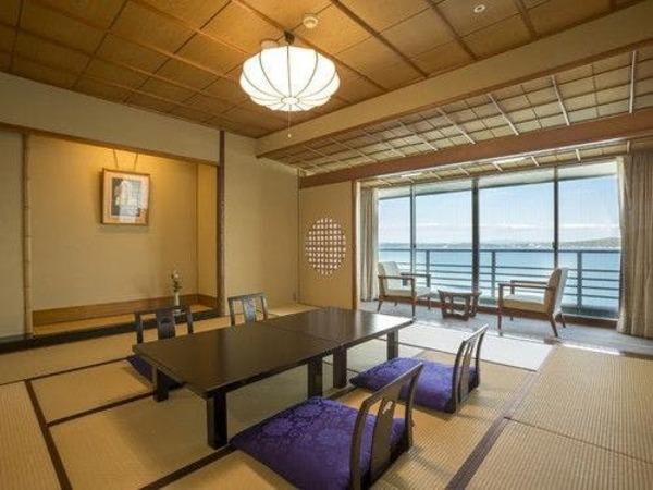 【白鵬】海を望む一般客室