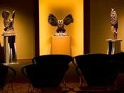 ギャラリー「ニタイ」阿寒湖畔在住の瀧口政満氏の木彫作品を一堂に集めたギャラリーです。