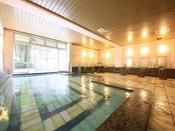 【大浴場/こうのとり温泉】「子宝の湯」としても人気の高い、弱アルカリ低張性温泉となります