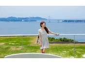 【SOLA TERRACE】鳴門海峡と大鳴門橋を一望する絶景テラス!記念撮影にもオススメ♪