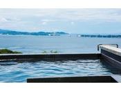 【天空のスパ 夕映えの湯】2018年4月にホテル敷地内から毎分最大300L湧き出る100%自家源泉の療養泉「南あわじ温泉」が開湯