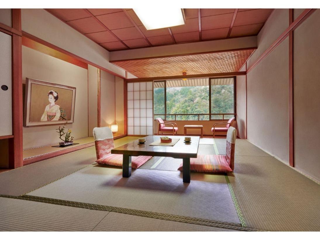 【華翆苑】和室10畳+踏込み スタンダードなお部屋
