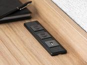 デスク USBジャック、コンセント