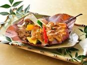 上州牛朴葉味噌焼き